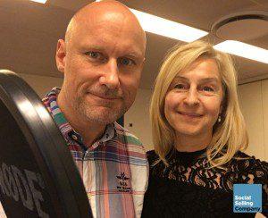 Eva Sachse og Leif Carlsen, Social Selling Company