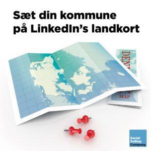 Sæt din kommune på LinkedIn's landkort
