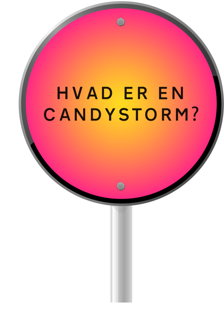 Definition på en candystorm