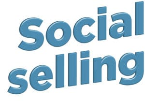 Blogindlæg om hvad social selling er for en størrelse